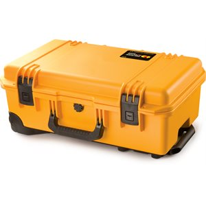 PELICAN IM2500 STORM CASE WITH PADDED DIVIDERS - YELLOW