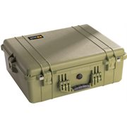 PELICAN # 1600 CASE - OLIVE DRAB GREEN