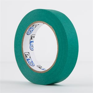 PERMACEL PAPER TAPE GREEN 25MM X 50M