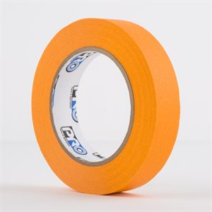 PERMACEL PAPER TAPE ORANGE 25MM X 50M