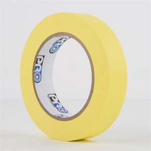 PERMACEL PAPER TAPE YELLOW 25MM X 50M