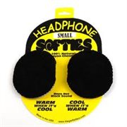 PROFESSIONAL SOUND CORPORATION HEADPHONE SOFTIE COVERS BLACK