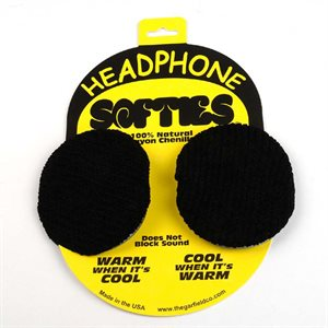 PROFESSIONAL SOUND CORPORATION HEADPHONE SOFTIE COVERS SMALL BLK