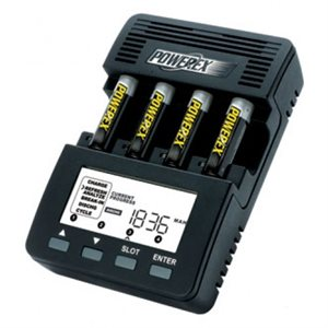POWEREX AA 4-BK BATTERY CHARGER