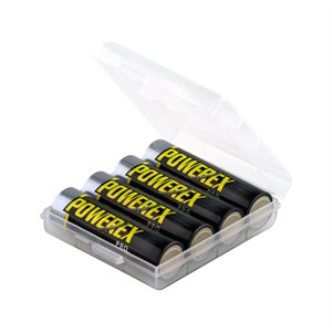 POWEREX PRO AA 2700MAH RECHARGE 4 BATT PACK