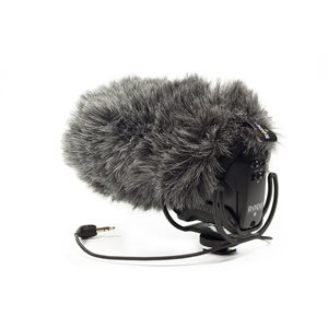 DeadCat VMPR Artificial fur windshield - fits VideoMic Pro Rycote foam windshield.