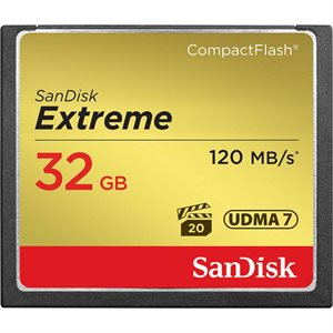 SANDISK EXTREME CF 32GB 120MB