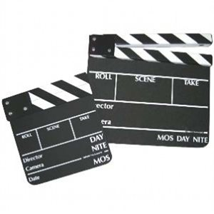 SOBRANTE CLAPPER BOARD SMALL CHALK
