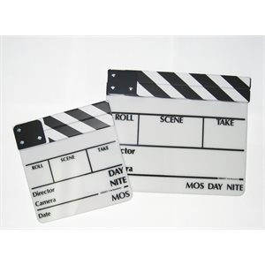 SOBRANTE CLAPPER BOARD BLACK & WHITE