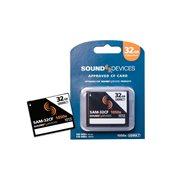 SOUND DEVICES CF CARD 32GB / UDMA7 / 1050X