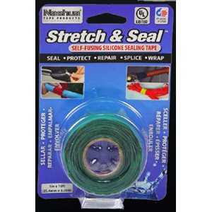 STYLUS STRETCH AND SEAL TAPE - GREEN