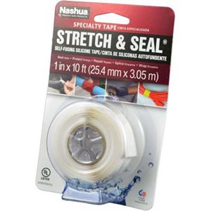 STYLUS STRETCH AND SEAL TAPE - WHITE