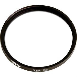 TIFFEN 37MM CLEAR  /  OPTICAL FLATE FILTER