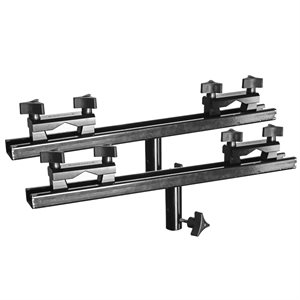 "Universal End Brackets with 18"" Cross Bar (2 pieces)"