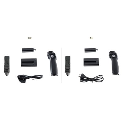 DJI OSMO HANDLE KIT INC BATTERY, CHARGER & PHONE HOLDER