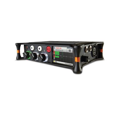 SOUND DEVICES 3 INPUT 5-TRACK AUDIO RECORDER / MIXER w / USB
