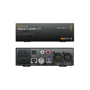 BLACKMAGIC DESIGN TERANEX MINI - OPTICAL TO AUDIO 12G